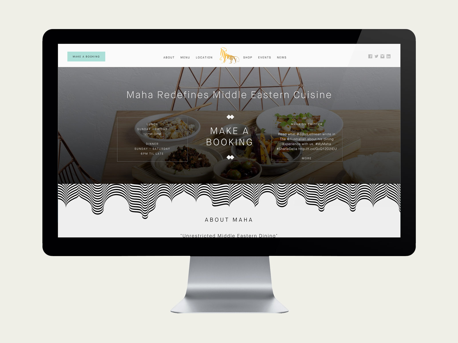 Maha-Website