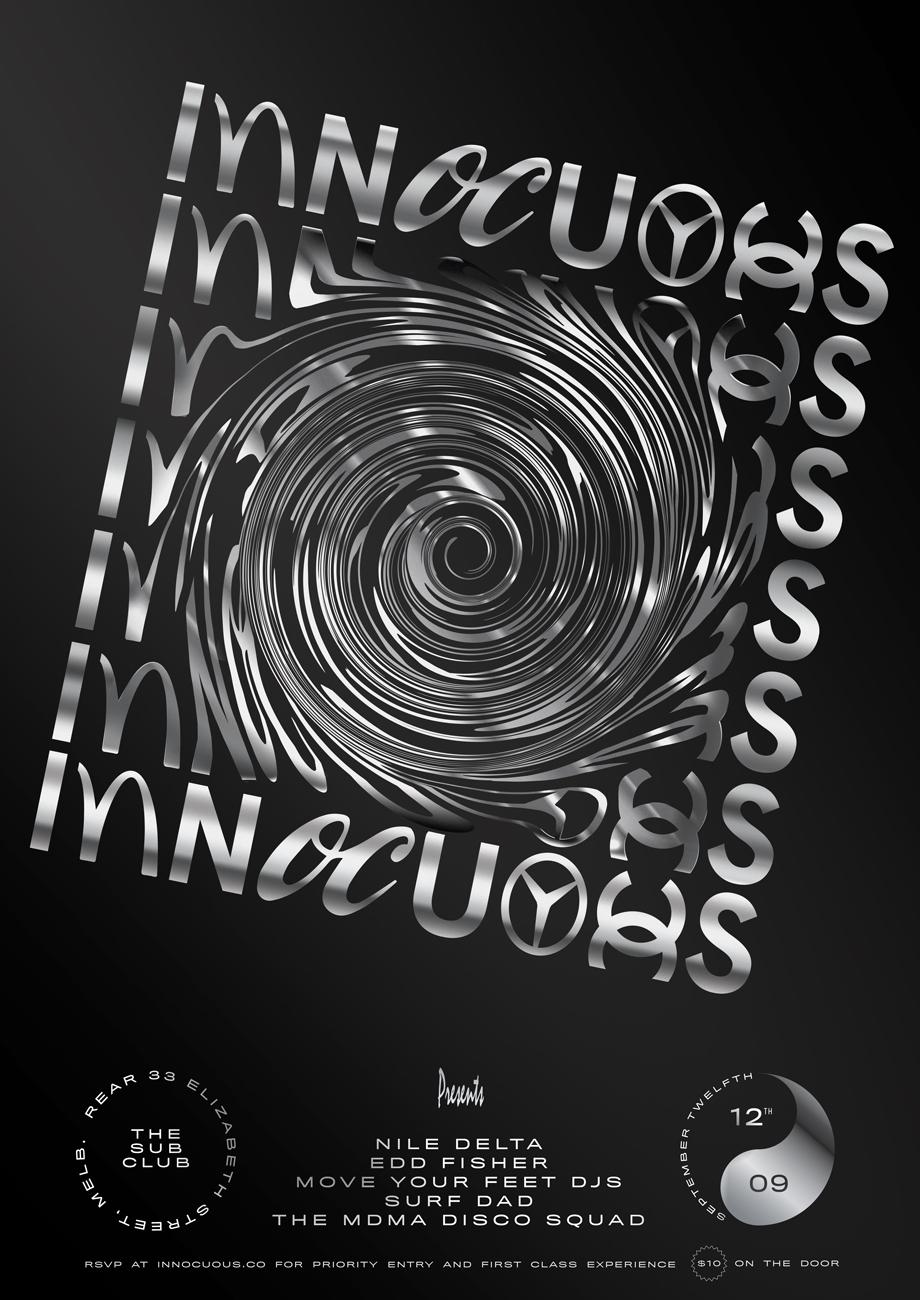 Confetti Studio Innocuous Poster Swirl
