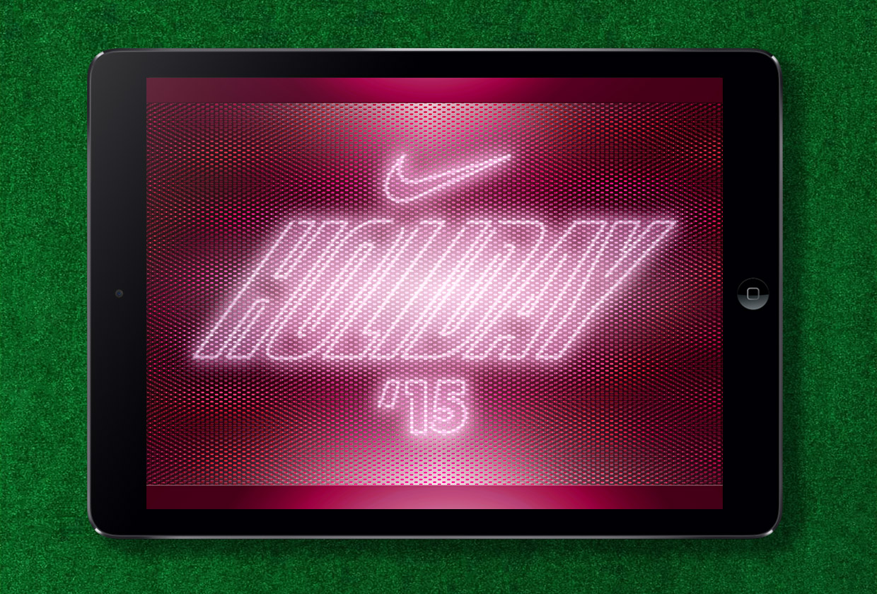 Nike Holiday Look Book Cover - Confetti