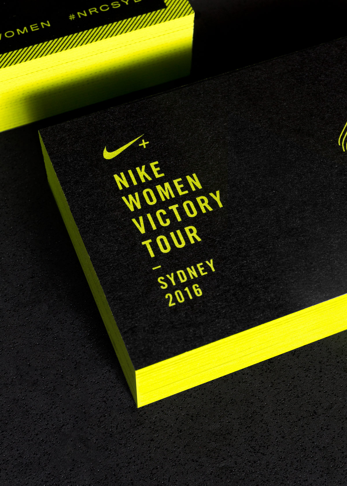 Nike women victory tour 2016 business cards confetti confetti contact colourmoves