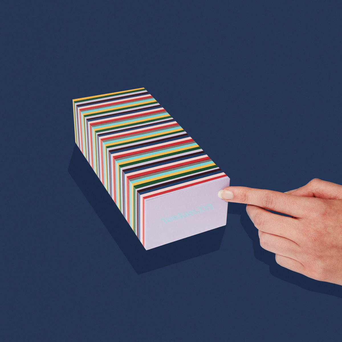 TomRoss.xyz Business Cards by Confetti Studio